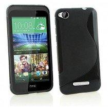 Hoesje HTC Desire 320 TPU case zwart