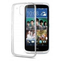 Hoesje HTC Desire 526 hard case transparant