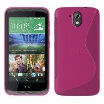 Hoesje HTC Desire 526 TPU case roze