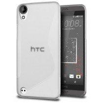 Hoesje HTC Desire 530 TPU case transparant