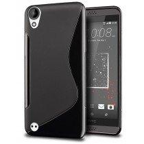 Hoesje HTC Desire 530 TPU case zwart