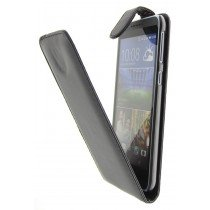 Hoesje HTC Desire 820 flip case zwart