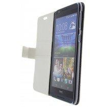 Hoesje HTC Desire 820 flip wallet wit