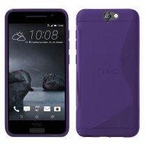 Hoesje HTC One A9 TPU case paars