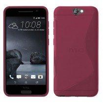 Hoesje HTC One A9 TPU case roze