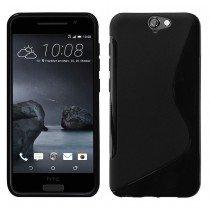 Hoesje HTC One A9 TPU case zwart