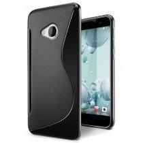 Hoesje HTC U Play TPU case zwart