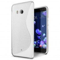 Hoesje HTC U11 TPU case transparant