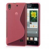 Hoesje Huawei Ascend G620s TPU case roze