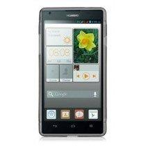Hoesje Huawei Ascend G620s TPU case transparant