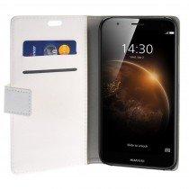 Hoesje Huawei G8 flip wallet wit