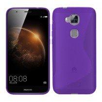 Hoesje Huawei G8 TPU case paars