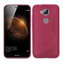 Hoesje Huawei G8 TPU case roze