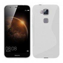 Hoesje Huawei G8 TPU case transparant