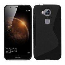 Hoesje Huawei G8 TPU case zwart