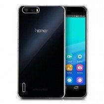 Hoesje Huawei Honor 6 Plus flexi bumper - 0,3mm - doorzichtig