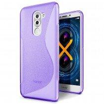 Hoesje Huawei Honor 6X TPU case paars