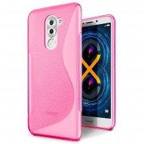 Hoesje Huawei Honor 6X TPU case roze