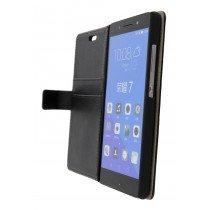 Hoesje Huawei Honor 7 flip wallet zwart