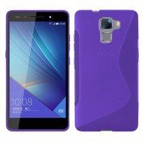 Hoesje Huawei Honor 7 TPU case paars