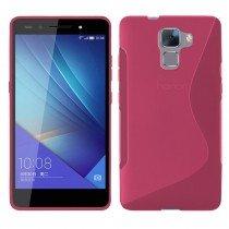 Hoesje Huawei Honor 7 TPU case roze