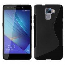 Hoesje Huawei Honor 7 TPU case zwart
