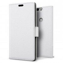 Hoesje Huawei Honor 8 flip wallet wit