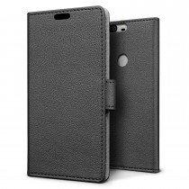 Hoesje Huawei Honor 8 flip wallet zwart