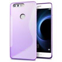 Hoesje Huawei Honor 8 TPU case paars