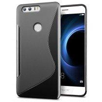 Hoesje Huawei Honor 8 TPU case zwart
