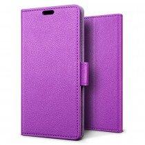 Hoesje Huawei Mate 10 flip wallet paars