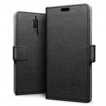 Hoesje Huawei Mate 10 Lite flip wallet zwart