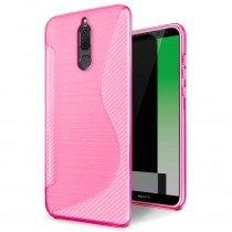 Hoesje Huawei Mate 10 Lite TPU case roze