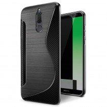 Hoesje Huawei Mate 10 Lite TPU case zwart