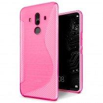 Hoesje Huawei Mate 10 Pro TPU case roze
