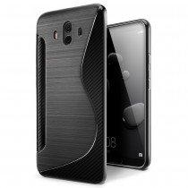 Hoesje Huawei Mate 10 TPU case zwart