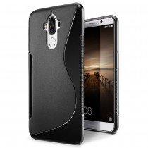 Hoesje Huawei Mate 9 TPU case zwart