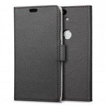 Hoesje Huawei Nexus 6P flip wallet zwart