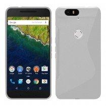 Hoesje Huawei Nexus 6P TPU case transparant