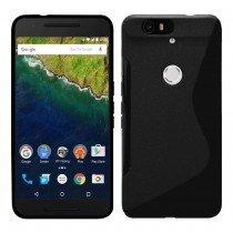 Hoesje Huawei Nexus 6P TPU case zwart