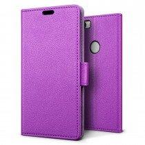 Hoesje Huawei Nova flip wallet paars