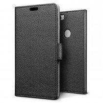 Hoesje Huawei Nova flip wallet zwart