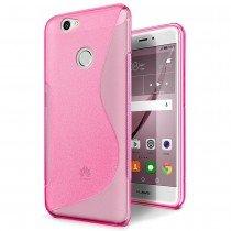 Hoesje Huawei Nova TPU case roze