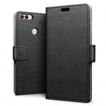 Hoesje Huawei P Smart flip wallet zwart