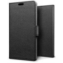 Hoesje Huawei P Smart Plus 2019 flip wallet zwart