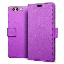 Hoesje Huawei P10 flip wallet paars