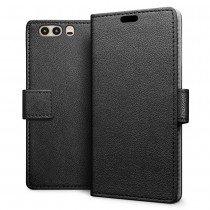 Hoesje Huawei P10 flip wallet zwart
