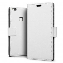 Hoesje Huawei P10 Lite flip wallet wit