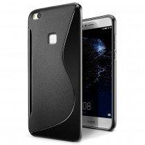 Hoesje Huawei P10 Lite TPU case zwart