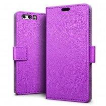 Hoesje Huawei P10 Plus flip wallet paars
